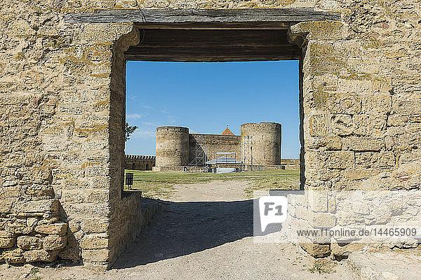 Ukraine,  Bilhorod-Dnistrovskyi fortress at the Black Sea coast