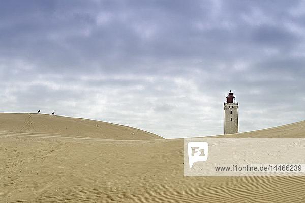 Dänemark  Jütland  Leuchtturm Rubjerg Knude