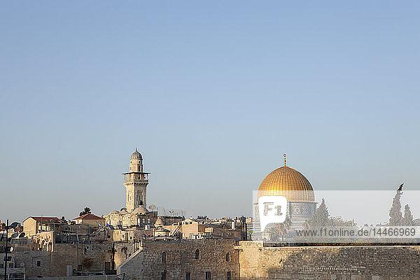 Israel  Jerusalem  Altstadt  Felsendom