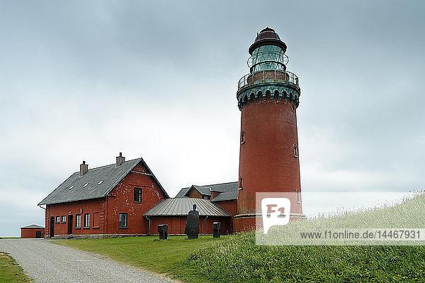 Dänemark  Jütland  Leuchtturm Bovbjerg