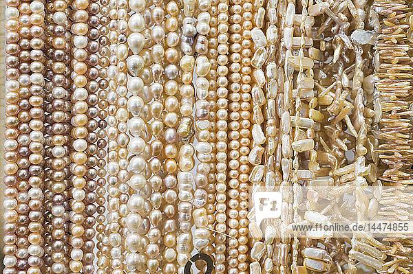 Halsketten  Zuchtperlen