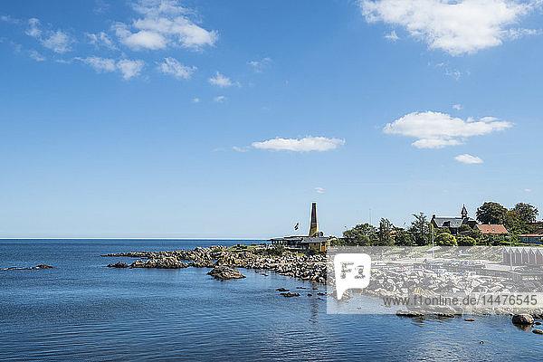 Dänemark,  Bornholm,  felsige Bucht in Allinge-Sandvig Sogn