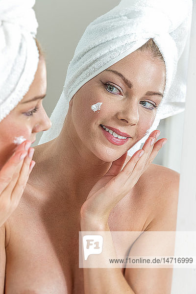 Face care  woman