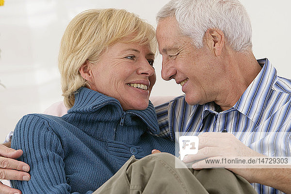 COUPLE IN THEIR 50S  INSIDE