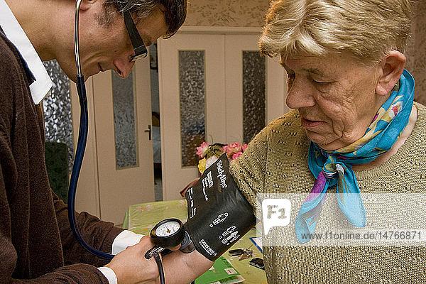 BLOOD PRESSURE  ELDERLY PERSON