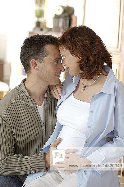PREGNANT WOMAN & MAN