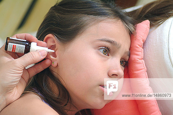 EAR TREATMENT  CHILD