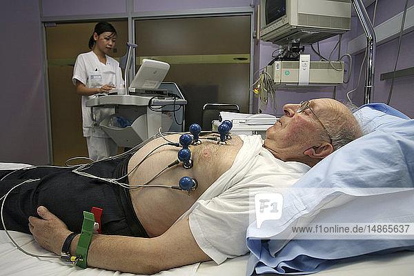 ECG OF AN ELDERLY PERSON