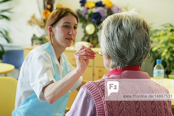 ELDERLY HOSPITAL PATIENT