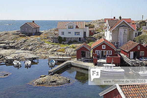 Small costal village