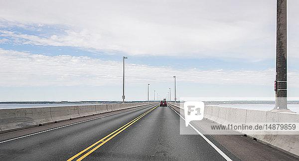 Confederation Bridge  Northumberland Strait  Charlottetown  Kanada