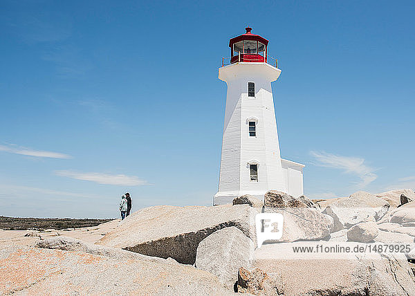 Peggy's Point Leuchtturm  Peggy's Cove  Neuschottland  Kanada