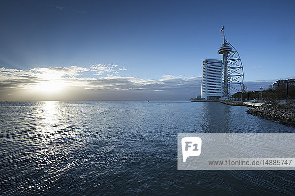 Portugal  Lisbon  Vasco da Gama Tower
