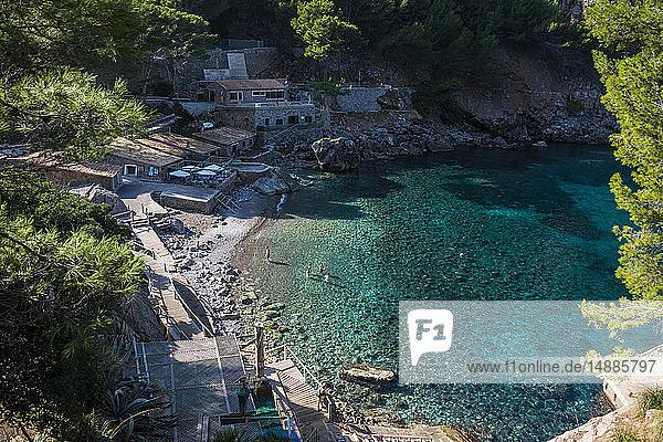 Spain  Baleares  Mallorca  Sa Calobra  Platja de Sa Calobra