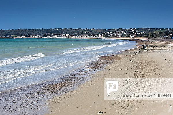 Vereinigtes Königreich  Kanalinseln  Jersey  die Bucht von St. Aubin