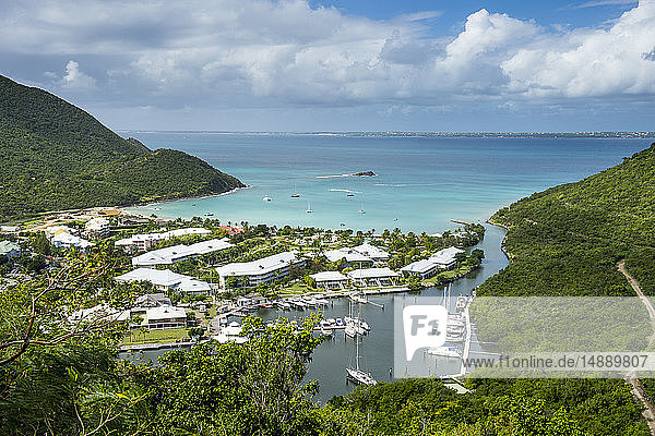Caribbean  Antilles  Sint Maarten  Grand-Case  Oversea France