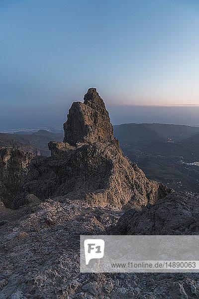 Spanien  Gran Canaria  Pico de las Nieves