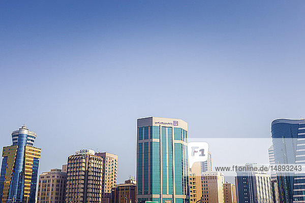 City skyline in Manama  Bahrain