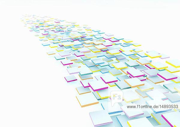 Viele fließende quadratische Formen