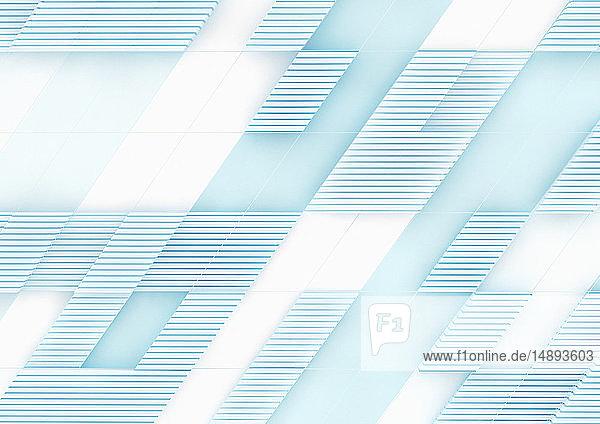 Diagonales geometrisches Gittermuster