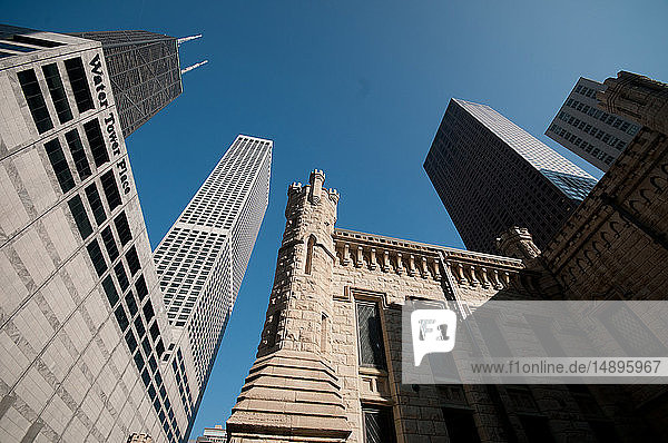 America  United states  Illinois  Chicago  Chicago Water Tower