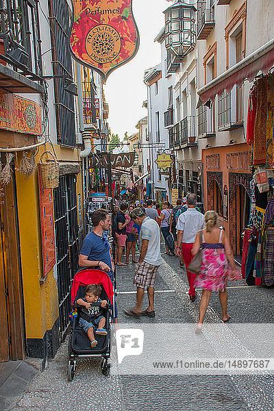 Europe  Spain  Andalucia  Granada