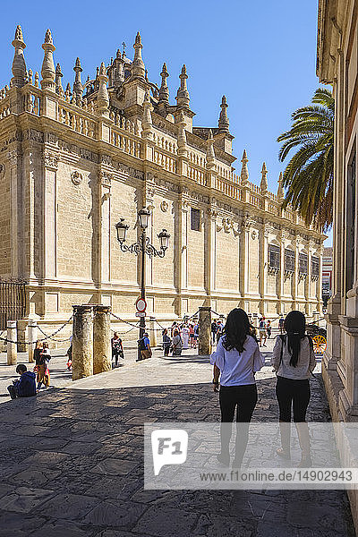 Seville Cathedral  Saint Mary of the See; Seville  Andalucia  Spain