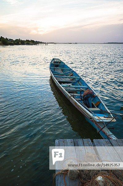 Seaview  Seine de saloum  Senegal.