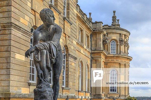 Blenheim Palace  Oxfordshire  England  United Kingdom  Europe.