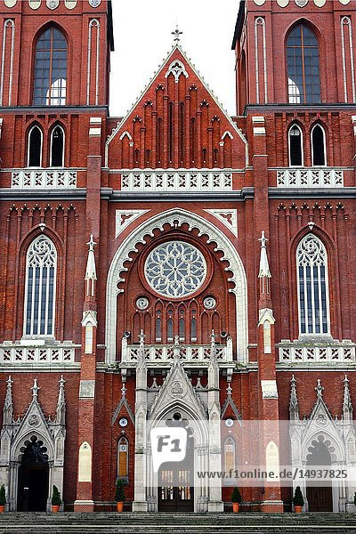 Archcathedral Basilica of the Holy Family also called Czestochowa Cathedral  it is one of the largest of its kind in Europe  built between 1901 and 1927  designed by Konstanty Wojciechowski  Czestochowa  Silesian Voivodeship  southern Poland  Poland  Europe