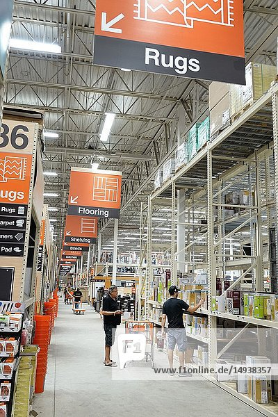 Florida  Miami  The Home Depot  inside  hardware big box store  do it yourself  aisle  shopping