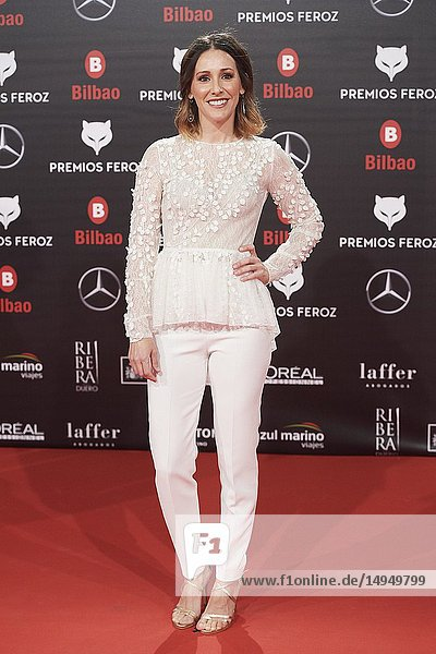 Adela Ucar attends the 2019 Feroz Awards at Bilbao Arena on January 19  2019 in Madrid  Spain