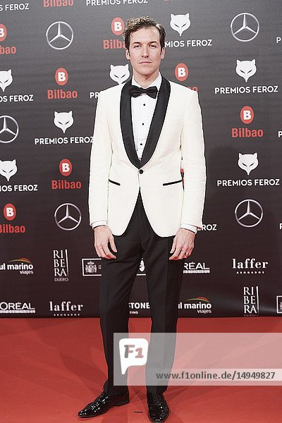 Jorge Suquet attends the 2019 Feroz Awards at Bilbao Arena on January 19  2019 in Madrid  Spain