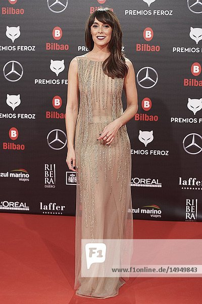Belen Cuesta attends the 2019 Feroz Awards at Bilbao Arena on January 19  2019 in Madrid  Spain