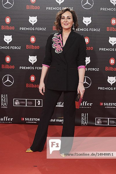 Ana Milan attends the 2019 Feroz Awards at Bilbao Arena on January 19  2019 in Madrid  Spain