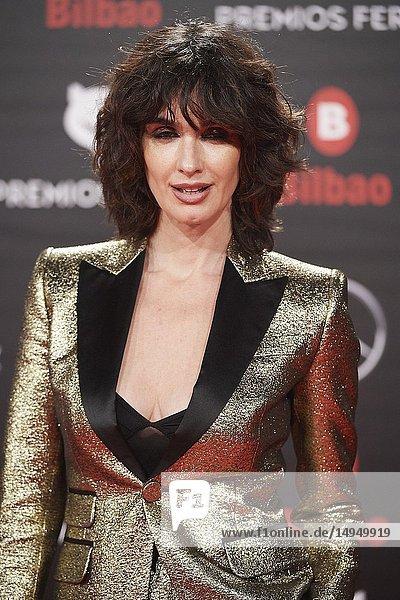 Paz Vega attends the 2019 Feroz Awards at Bilbao Arena on January 19  2019 in Madrid  Spain