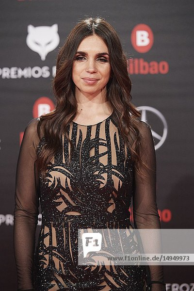 Elena Furiase attends the 2019 Feroz Awards at Bilbao Arena on January 19  2019 in Madrid  Spain