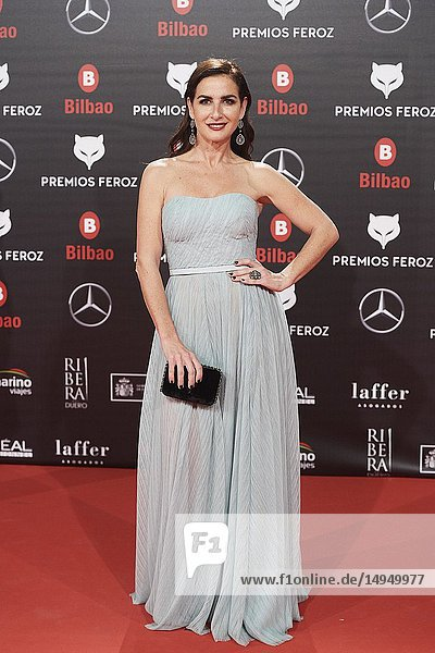 Belen Lopez attends the 2019 Feroz Awards at Bilbao Arena on January 19  2019 in Madrid  Spain
