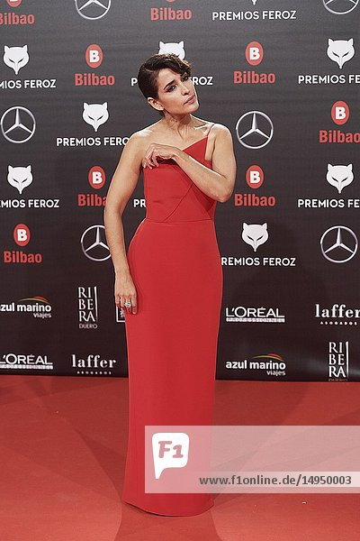 Inma Cuesta attends the 2019 Feroz Awards at Bilbao Arena on January 19  2019 in Madrid  Spain