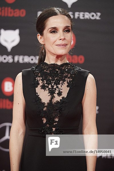 Nuria Gago attends the 2019 Feroz Awards at Bilbao Arena on January 19  2019 in Madrid  Spain