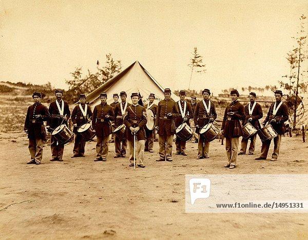 Drum Corps  30th Pennsylvania Infantry.