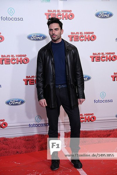 Antonio Ibañez  Spanish actor  attended the premiere  posing in the photocall. A film directed by Juana Macias with Jordi Sánchez  Silvia Abril  Daniel Guzmán  Malena Alterio.