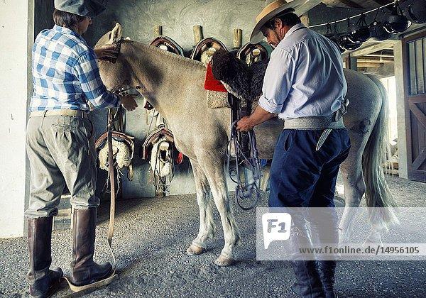 Horse stables of estancia Vik country house. jose ignacio  Uruguay.