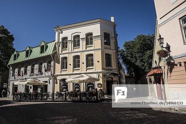 Architecture of Old Town  Tallinn  Estonia  Baltic States.