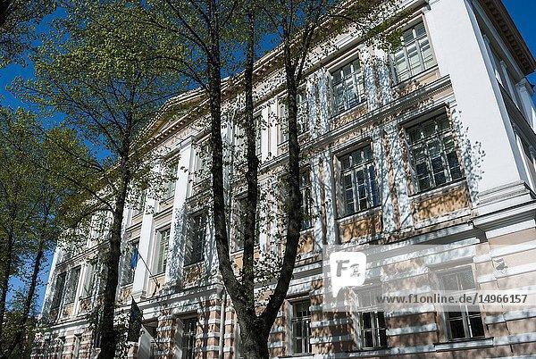 Tallinn Secondary School (Tallinna Reaalkool)  Estonia Avenue. Tallinnn  Estonia.