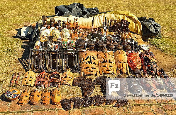 Souvenirs for tourists near Mossel Bay  South Africa