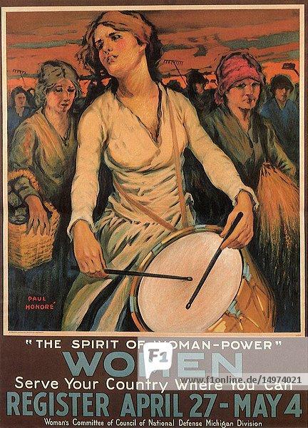 The Spirit of Woman-Power.