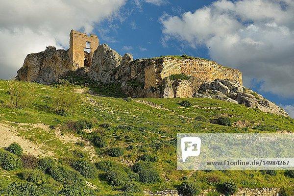 Bedmar Castle  Sierra Mágina  Jaén  Andalusia  Spain