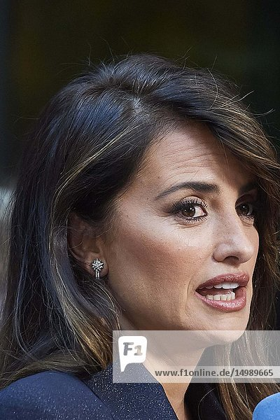 Penelope Cruz attends 'Dolor y Gloria' Photocall at Villamagna Hotel on March 12  2019 in Madrid  Spain