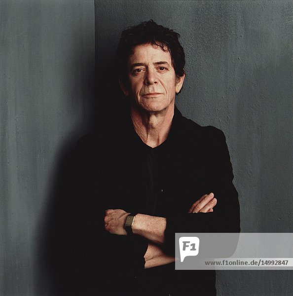UK -- 28 Oct 2013 -- File photo circa 2003 of the Lou Reed 1942-2013. The famous singer and guitarist died on the 27 October 2013 of complications after a liver transplant at the age of 71. His music was legendary and groundbreaking and he was the leading light in the Velvet Underground group and his best known song is 'Walk on the Wild Side' -- Picture by Timothy Greenfield-Sanders/Lightroom Photos.